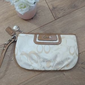 Coach Signature Collection Wristlet NEW